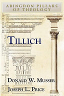 Tillich - Abingdon Notes