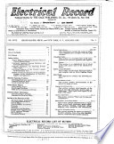Electrical Record and Buyer s Reference