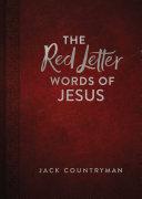 download ebook the red letter words of jesus pdf epub
