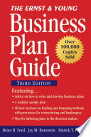 The Ernst   Young Business Plan Guide