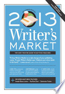 2013 Writer S Market book