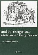 Studi sul Risorgimento