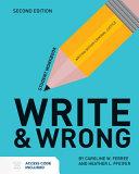 Write Wrong