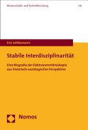 Stabile Interdisziplinarität