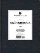 Large Sketchbook  Kivar  Black