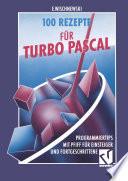 100 Rezepte F R Turbo Pascal