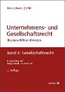 Unternehmens- und Gesellschaftsrecht Band 2: Gesellschaftsrecht