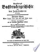 Augsburgs Buchdruckergeschichte