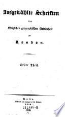 Kabinets-Bibliothek der neuesten Reisen und Forschungen im Gebiete der Länder- Völker- und Staatenkunde
