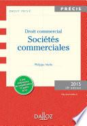 Droit Commercial Soci T S Commerciales Dition 2015