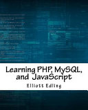 Learning Php Mysql And Javascript