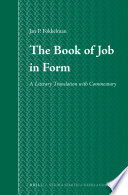 Read OnlineThe Book of Job in FormFull Book