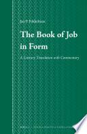 DownloadThe Book of Job in FormPDF