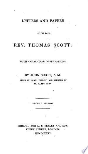The Works of the Late Rev. T. Scott, Rector of Aston Sanford, Bucks