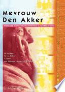Mevrouw Van Den Akker.