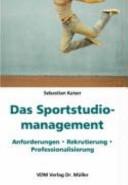 Das Sportstudiomanagement
