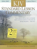Standard Lesson Commentary 2004 2005