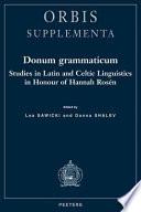 Donum Grammaticum