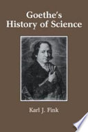Goethe s History of Science