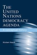 download ebook the united nations democracy agenda pdf epub