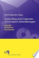 Controlling und Corporate-Governance-Anforderungen