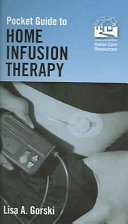 Pocket Guide to Home Infusion Therapy