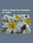 People from the Province of Turin