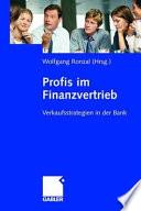 Profis Im Finanzvertrieb