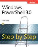 Windows PowerShell 3.0 Step by Step