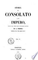 Storia del Consolato e dell Impero seguito alla Storia della Rivoluzione francese di A  Thiers