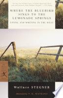 Where the Bluebird Sings to the Lemonade Springs Book PDF
