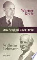 Briefwechsel 1931-1968