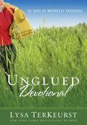 Unglued Devotional Book