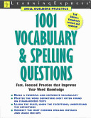 One Thousand and One Vocabulary and Spelling Questions