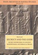Secrecy and the gods