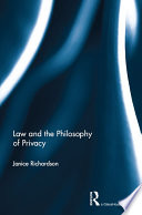 Law and the Philosophy of Privacy