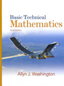 Basic Technical Mathematics with Student Solutions Manual and Mymathlab