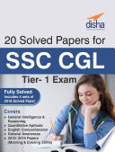 20 Solved Papers  2010 16  for SSC CGL Tier I Exam