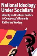 National Ideology Under Socialism