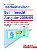 Taschenlexikon Beihilferecht Ausgabe 2008