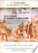 1892, el IV centenario del descubrimiento de América en España