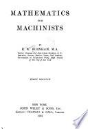 Mathematics for Machinists