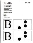 Braille books