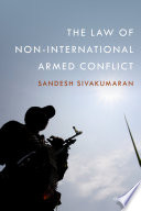 The Law of Non International Armed Conflict