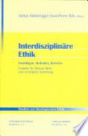 Interdisziplin Re Ethik