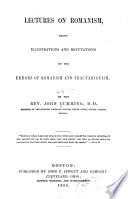 Lectures on Romanism