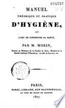 illustration Manuel théorique et pratique d'hygiène ou l'art de conserver sa santé