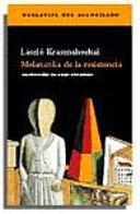 download ebook melancolía de la resistencia pdf epub