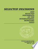 Selected Decisions and Selected Documents of the International Monetary Fund (EPub)
