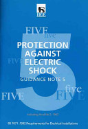 Protection Against Electric Shock